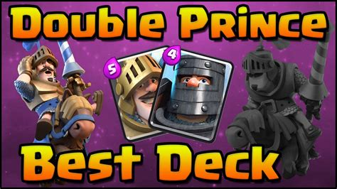 clash royale amazing prince deck and strategy for arena 7 8 prince and prince
