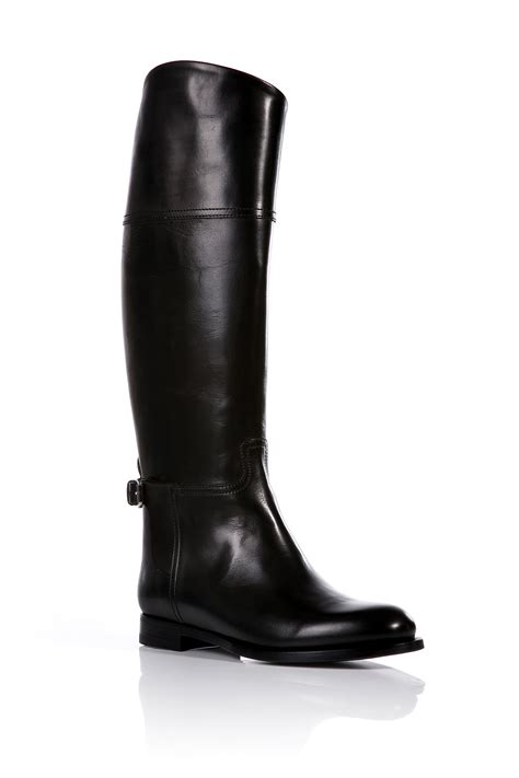 ralph leather boots ralph collection leather sallen boots in