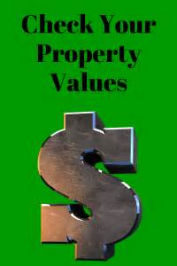 thinking of filing bankruptcy check your property values