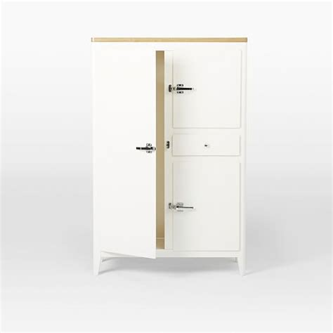 West Elm Armoire by Cabin Kitchen Armoire White West Elm