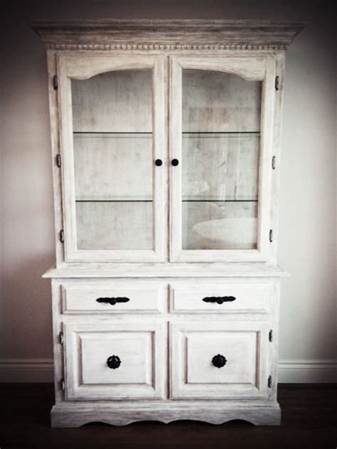 pure white annie sloan chalk paint tm chalk paint by china cabinet refinished with annie sloan quot pure white
