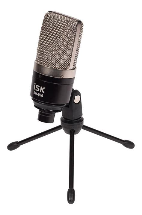 Isk Bm 900 Condenser Microphone W Desk Stand