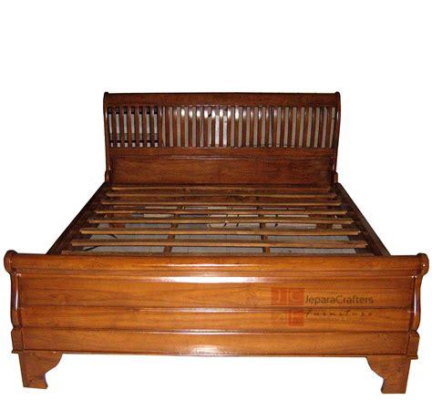 teak wood bedroom sets solid teak wood sleigh bed bedroom furniture indonesia