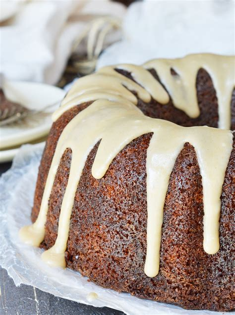 brown butter glazed bundt cake recipe wonkywonderful