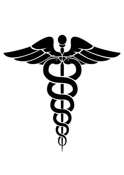 Disegno da colorare simbolo medico - Disegni Da Colorare E