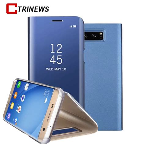 Best Seller Samsung Galaxy Note 7 Led View Cover Black Original aliexpress buy mirror clear view flip for