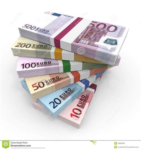 what is l stack stacks of euros stock illustration image 52660499