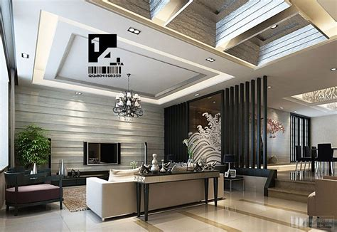 designer living modern chinese interior design