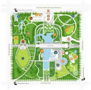 Botanical Garden Directions Map Myriad Botanical Gardens