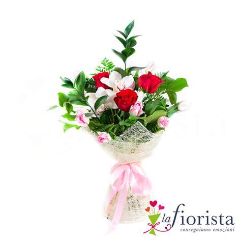 fiore di orchidea vendita mazzo di rosse e fiori di orchidea consegna