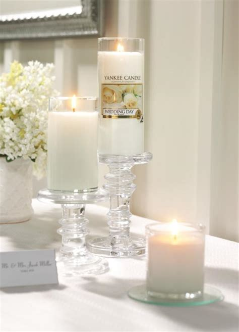 candele eleganti wedding day by yankee candle shabby chic mania by grazia