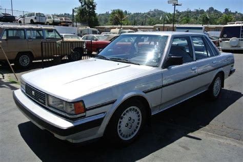 1985 Toyota Mpg 1985 Toyota Cressida Luxury In El Cajon Ca 1 Owner Car