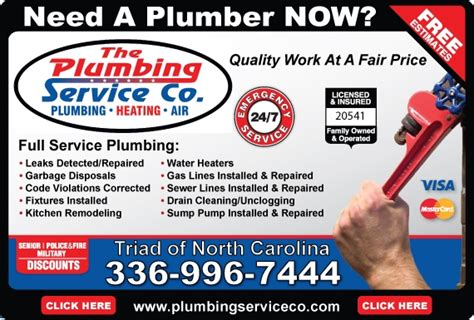 Plumbing Services Greensboro Nc by Find Greensboro Plumbers Plumber Greensboro Nc