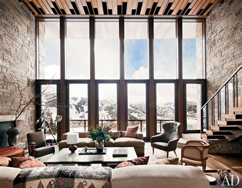 colorado home decor an aspen ski house by studio sofield architectural digest