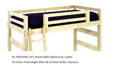 full size junior loft bed junior loft bed deluxe monterey junior corner loft bed