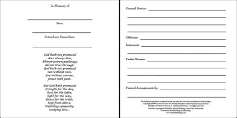 funeral guest book template book covers