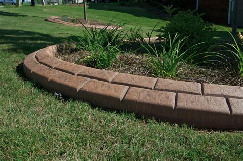 Landscape Curbing Concrete Edging Alternative Edge Concrete Landscape Edging