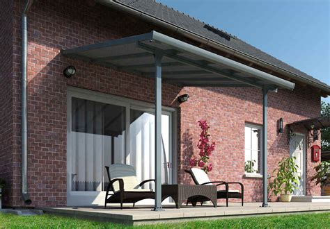 Palram Patio Covers by Palram Feria 10x10 Patio Cover Gray Hg9410 Free Shipping
