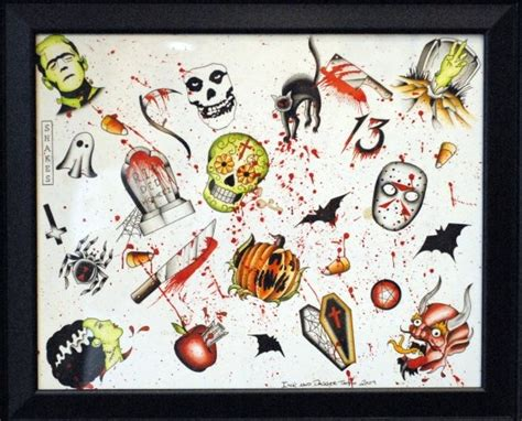 tattoo flash friday the 13th friday the 13th tattoo flash from ink dagger tattoo i