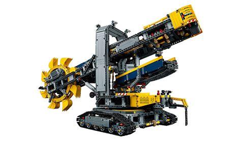 lego technic wheel excavator lego technic wheel excavator 42055 toys