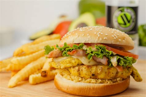 Want Fries With Your Hamburger by Delicious Chicken Burger Recipe My Culinary Stories