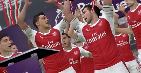 arsenal fifa 17 10 things that could only happen on fifa 17 including