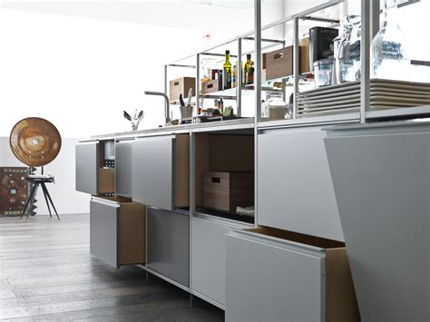 valcucine kitchen meccanica metal fitted kitchens from valcucine