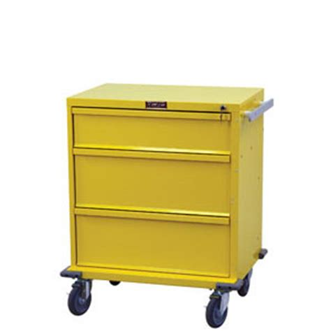 Drawer Procedures by Three Drawer Procedure Infection Cart The