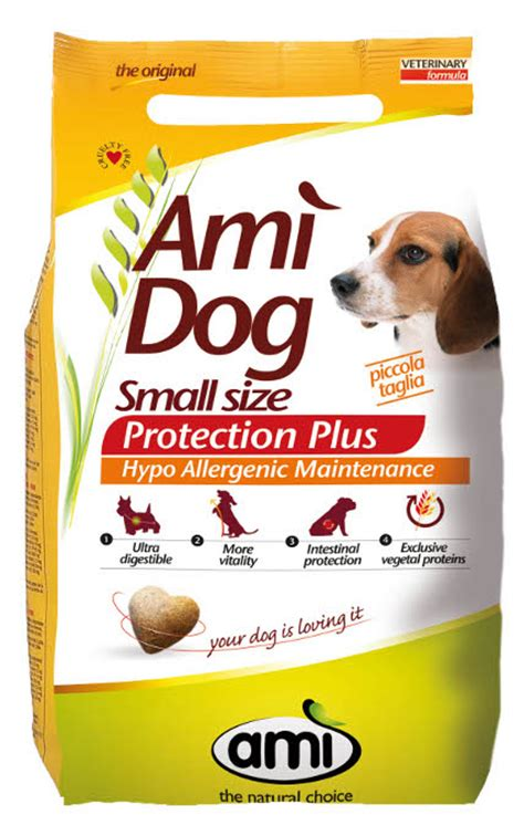 food for small dogs food ami mini for small dogs vegetarian vegan 800g