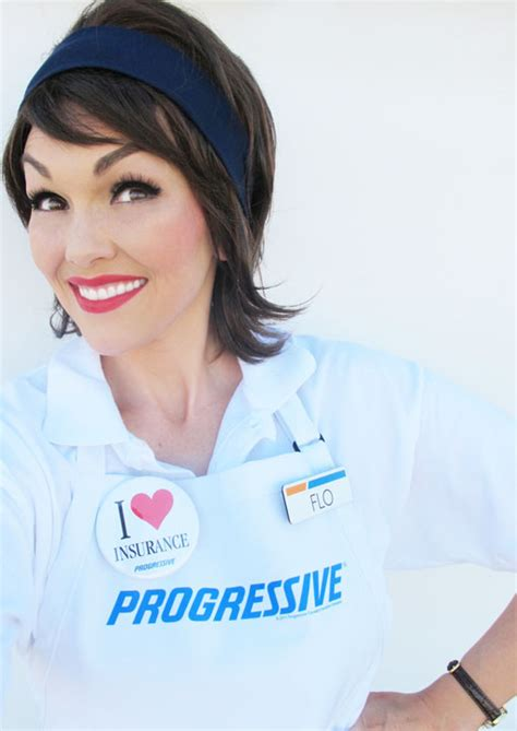 kandeej.com: How to Look Like Flo the Progressive Lady
