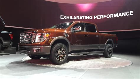 Nissan Titan Giveaway - 2016 nissan titan xd nissan aims to fill the white space with new truck wztv