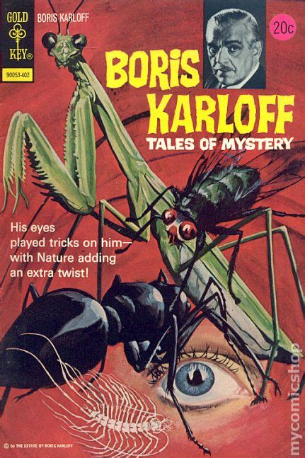 Boriss Book boris karloff tales of mystery 1963 gold key comic books