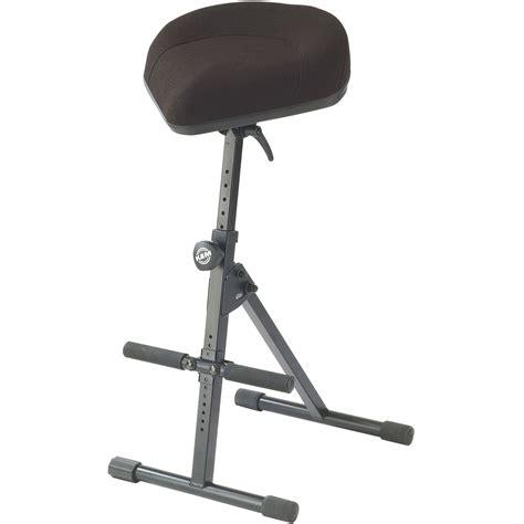 Musician Stool k m 14047 musician s stool black fabric 14046 000 55 b h
