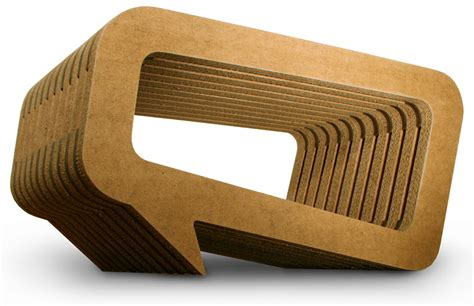 Cardboard Coffee Table Coffee Table Can T Afford Mahogany Furniture Try Cardboard Instead Edm And