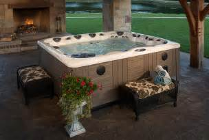 backyard ideas for tubs and swim spas