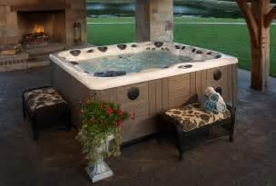 tub backyard backyard ideas for tubs and swim spas