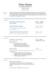 Resume Sles For College Students With No Experience by Doc 500708 Student Resume Exles Graduates Format