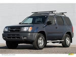 2000 Nissan Xterra 4x4 Denim Blue Metallic 2000 Nissan Xterra Se V6 4x4 Exterior