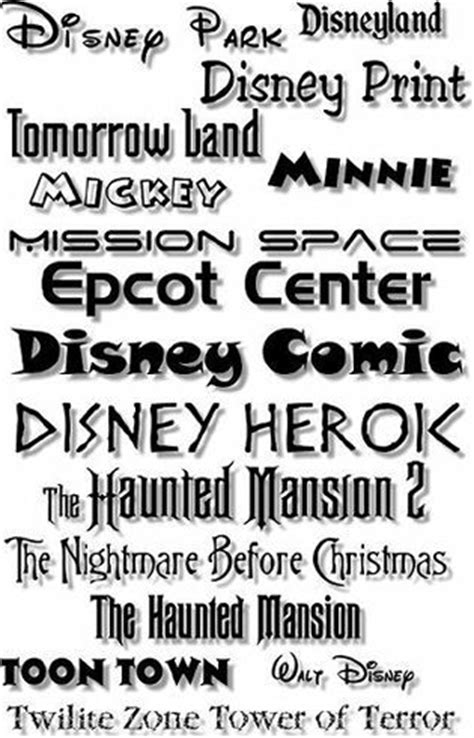 printable disney fonts 17 best images about disney printables on pinterest