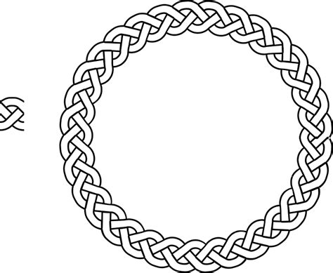 Free vector graphic: Border, Braid, Frame, Plait, Rope   Free Image on Pixabay   148521