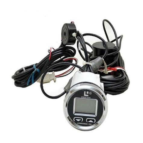 digital depth gauge for boats lowrance 3500 silver black boat digital sonar depth finder