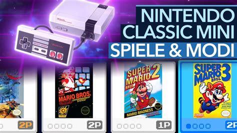 nintendo classic mini y mini nintendo classic mini special spiele speichern anzeigemodi