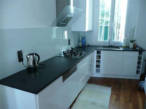 cuisine plan de travail granit noir plan de travail en granit quot noir zimbabw 233 quot 171 azur