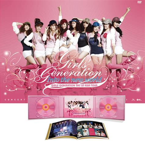 Generation Into The New World The 1st Asia Tour dvd snsd generation the 1st asia tour