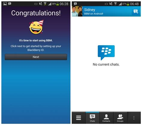 android running two bbm id blackberry idpin in one bbm now available for on android and iphone