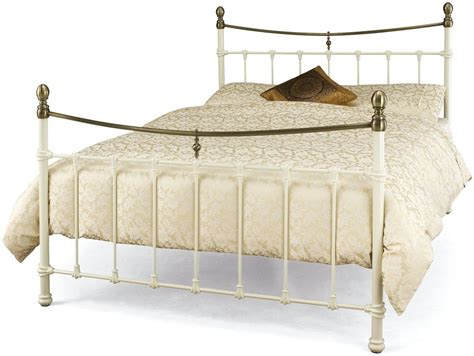 bronze metal bed serene edwardian ll ivory with antique bronze metal bed