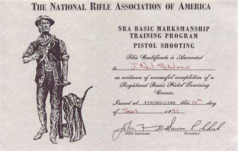 nra certificate template the nra needs to grow a pair 171 j neil schulman