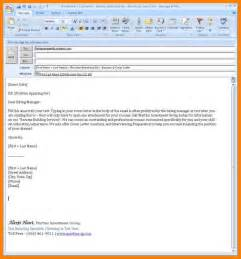sending a cover letter through email 9 how to send a resume by email resume emails