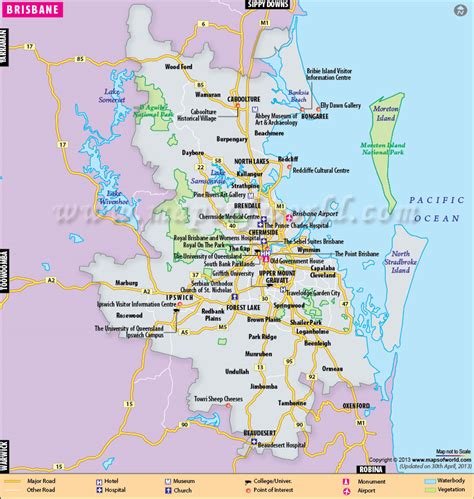 australia map brisbane brisbane map and images of brisbane map citiviu