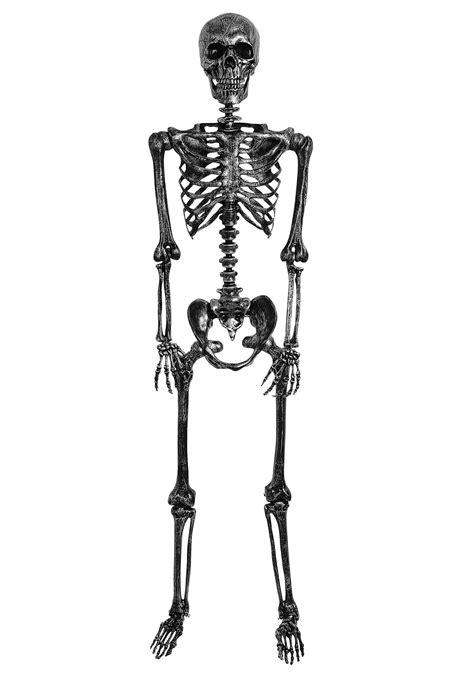 Skeleton Rantai Black 1 lifesize black skeleton